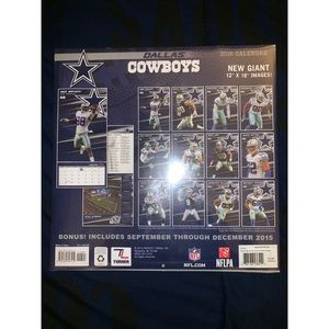 NFL Office - 2016 Cowboys Calendar